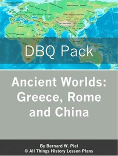 DBQs for high school world history: Alexander the Great of Ancient Greece Ancient China, Tang Dynasty and Song Dyansty Confucianism & Ancient China, Han Dynasty Ancient Rome & Christianity Ancient China: Shang Dynasty High School World History, World History Teaching, Ancient World History, World History Lessons, Study History, History Teachers, History Class, Social Studies Resources, Teaching Social Studies