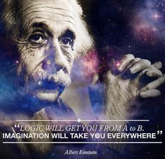 Logic vs. imagination.