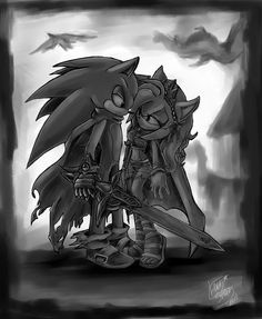 Photo of sonic and amy for fans of Knuckles Sonic and Shadow Girlfriends.