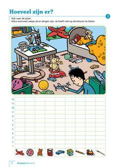 Inkijkexemplaar plustaak rekenen 3 werkboek Visually Impaired Activities, Kids Class, Mini S, Play To Learn, Teaching Math, Back To School, Homeschool, Speech Therapy, School