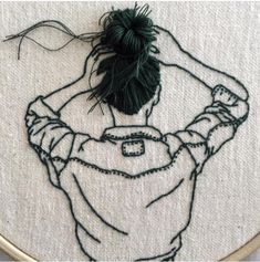 Embroidery by @_______ism