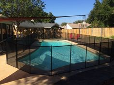 Baby Barrier Pool Fence - Winter Park residents only choose quality pool fence when protecting their children from pool accidents! #PoolFence #PoolSafety #BabyBarrier