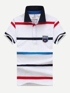Wilson Stripe Polo Deportivo para Hombre