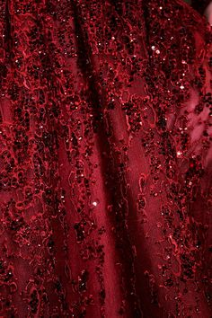 Red Fabric by Elie Saab
