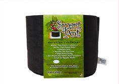 The patented Smart Pot is for the gardener who wants a container that will grow the best possible plant. It is a new and unique advancement in container technology that is better than any other method of container gardening. It is-  Better than Standard Black Plastic Containers Better than Ceramic (Clay) Containers Better than Raised Beds Better than Decorative Containers