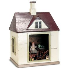 Miniatures and Dollhouses I / View Catalog Item - Theriault's Antique... ❤ liked on Polyvore featuring fillers