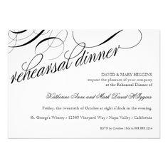 Eat, Drink Get Married Rehearsal Dinner Invites