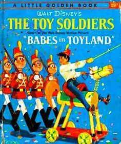 """1961 Walt Disney's 'The Toy Soldiers' 1st Ed """"A"""", Little Golden Book"""