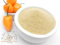 Habanero Sugar- TSTE offers several great sweet and spicy sugars, a perfect topping to almost any dish!  #sugar #dessert #spiceandtea