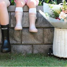 UPDATE!  VERY Good news! Having spent all day on the phone and literally harassing the head of TNT (oh yes hubby can be very persistent and useful at time!) Our @hubbleandduke gumboots have just cleared Customs and I will be collecting them in person from TNT (van on standby - there are 12 huge boxes) on Tuesday morning at 9am so that we can spend the whole day packing your orders and finally getting them out the door. We truely appreciate your patience and apologize for the delays but hope…