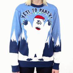 Yeti Sweater Close Up