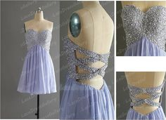 Short Homecoming Dress Sexy Sweetheart Short by LaceDressGallery, $99.00