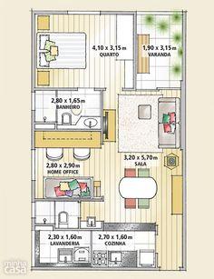 Apartamento alugado parece novo e nem precisou de reforma