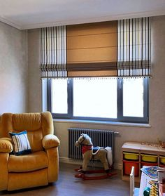 Diy Blinds, Curtains With Blinds, Valance, Diy Window Shades, Living Room Color Schemes, Roman Blinds, Textiles, Room Colors, Roman Shades