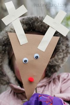 Simple Reindeer Craft ~ Christmas Craft for Preschoolers