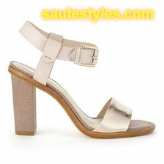 Ladies Gain Height by Wearing Block Heel Sandals