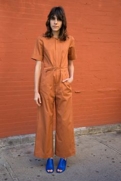 ANA JUMPSUIT, TERRACOTTA