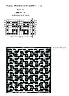 Mosaico Knitting Barbara G. Walker (Lenivii gakkard) Mosaico Knitting Barbara G. Walker (Lenivii gakkard) # 26