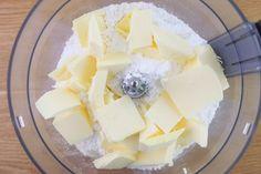 Masa Sablée - Masa básica para tartas y galletas - Tan Dulce Feta, Tapas, Dairy, Cheese, Cookies, Cake, Disney, Microwaves, Cookies For Wedding
