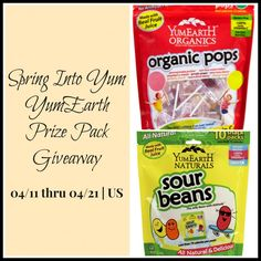 Spring Into Yum YumEarth Giveaway