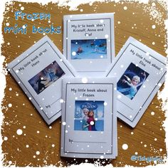 Frozen mini books