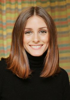 Olivia Palermo - very pretty hair length for anyone, but especially if you're over 40.