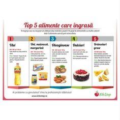 alimente care ingrasa - Totul despre slăbit Top 5
