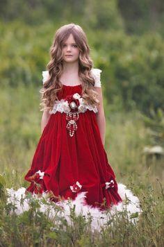 Couture vacaciones escarlata del terciopelo de la pluma del vestido