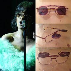 Rihanna in Vintage Alain Mikli Sunglasses