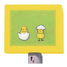 """""""Hatched"""" - Canvas Night Light from Oopsy daisy, Fine Art for Kids"""