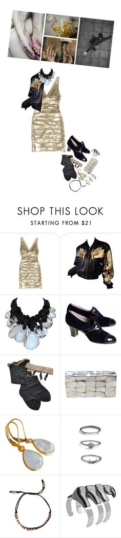 """""""I see the spine of the world, sparkle and shine, light the inside"""" by ouro-asunder ❤ liked on Polyvore featuring Hervé Léger, Monies, Oxford, Trasparenze, Jo-Liza, Rachel Entwistle, Shashi and nOir"""