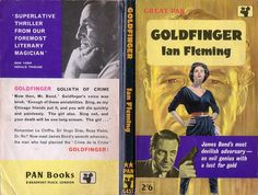 Goldfinger, Pan G455, published in 1961, cover artwork by Pat Owen