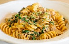 Portuguese Pasta with Tuna Recipe