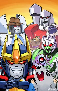 TRANSFORMERS HOLIDAY SPECIAL! I like this world