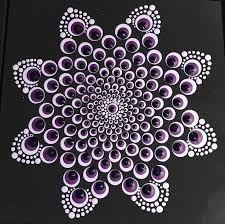 Best 12 Blooming dahlia dot Mandala on canvas board 8 x 8 Dot Art Painting, Mandala Painting, Pebble Painting, Painting Patterns, Pebble Art, Stone Painting, Mandala Painted Rocks, Mandala Rocks, Mandala Pattern