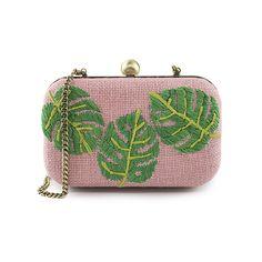 eaa24b3ba4e5 Cactus straw clutch bag