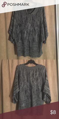 Gray Top by Brittany Black Size 1x Gray Top by Brittany Black Size 1x Brittany Black Tops