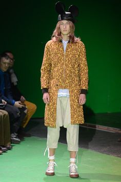 Commes de Garcons Paris Fashion Week FW 2013 #parisfashionweek #mickeymouse