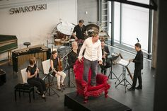 Chamber music festival at Swarovski Kristallwelten: Music in the Giant 2016 with Ensemble intercontemporain, Gregor Mayrhofer and Georg Nigl.