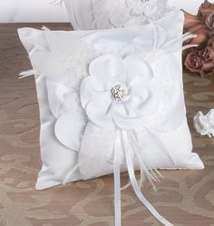 perfect ring bearer pillow