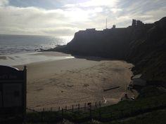 Tynemouth king Edwards bay beach 7.30 am 1st June 2015 www.tynemouthwebcam.com