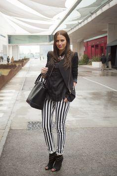 Todas las imágenes de street style en Mercedes Benz Fashion Week Madrid: María Gallart