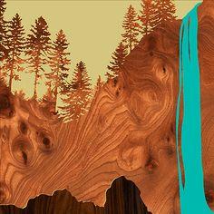 Jefdesigns - Latourell falls, Oregon print