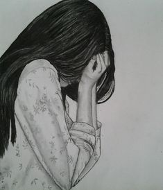 Image Result For Sad Girl Drawings Tumblr Drawing Depression
