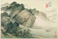 3, Landscapes after old masters (1674-1677)