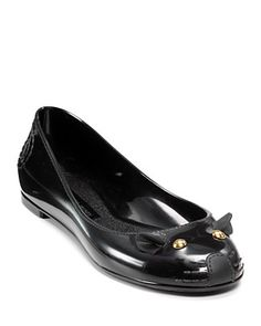 Marc Jacobs mouse jelly ballet flats