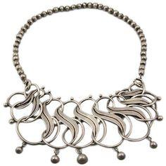 Necklace   William Spratling.  Sterling silver.  ca. 1940s.