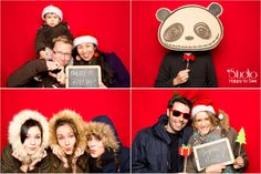Photobooth Noël ©Studio Happy to See Photographe Toulouse