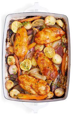 Pan-Roasted Paprika Chicken Recipe