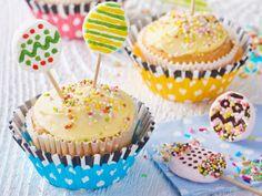 Cupcakes s lízankami